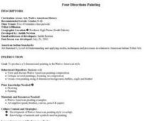 Four Directions Painting Lesson Plan