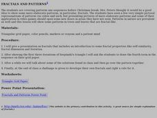 Fractals and Patterns Lesson Plan