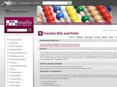 Fraction Bits and Parts Lesson Plan