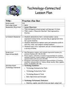 Fraction Clue Box Lesson Plan