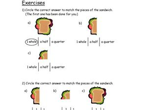 Fraction Exercises Lesson Plan
