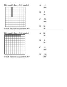 Fraction Model 2 Lesson Plan