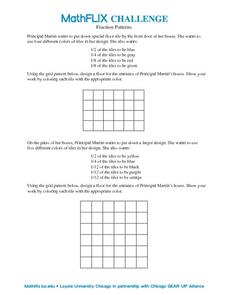 Fraction Patterns Worksheet