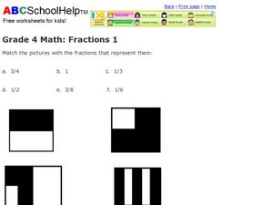 Fractions 1 Worksheet