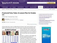 Fractured Fairy Tales Lesson Plan
