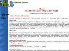 FRAM: The Most Famous Ship in the World Lesson Plan