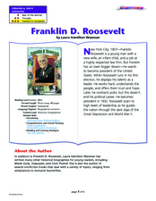 Franklin D. Roosevelt Lesson Plan
