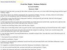 Freak The Mighty Worksheets - Worksheets