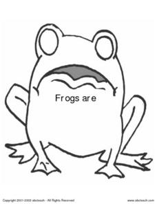 Frog Are: Learning About Frogs Worksheet