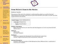 From McGee's Farm to the Movies Lesson Plan