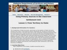 From Territory to State Lesson Plan