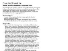 From the Ground Up Lesson Plan
