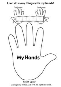 Front Cover: My Hands Lesson Plan