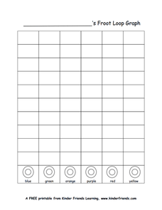 Froot Loop Graph 1st - 3rd Grade Worksheet | Lesson Planet