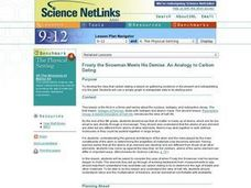 Carbon dating lesson plan