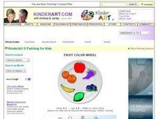 Fruit Color Wheel Lesson Plan