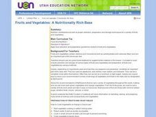 Fruits and Vegetables: A Nutritionally Rich Base Lesson Plan