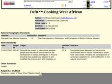 Fufu??: Cooking West African Lesson Plan