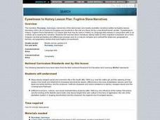 Fugitive Slave Narratives Lesson Plan