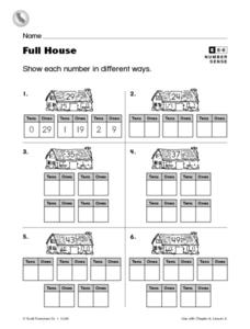 Full House Worksheet