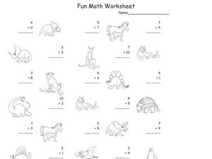 Fun Math 16 Worksheet