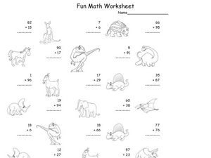 Fun Math 24 Worksheet