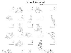 Fun Math 38 Worksheet