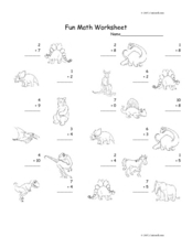 Fun Math 44 Worksheet