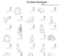 Fun Math 55 Worksheet