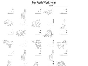 Fun Math 7 Worksheet