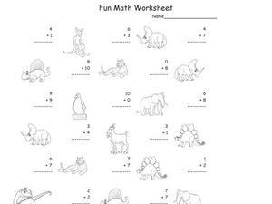 Fun Math 8 Worksheet