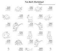 Fun Math Worksheet: Addition 2 Worksheet
