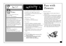 Fun with Flowers Lesson Plan