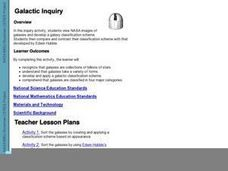 Galactic Inquiry Lesson Plan