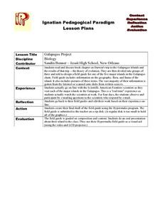 Galapagos Project Lesson Plan