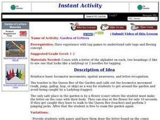 Garden of Letters Lesson Plan