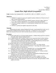 General Music Methods Lesson Plan