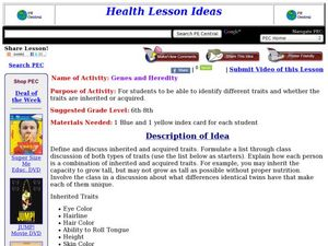 Genes and Heredity Lesson Plan