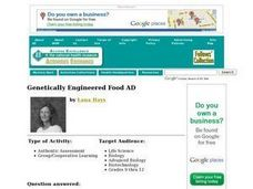 Genetically Engineered Food AD Lesson Plan