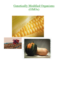 Genetically Modified Organisms Lesson Plan