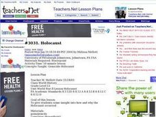 Genocide-Holocaust Lesson Plan