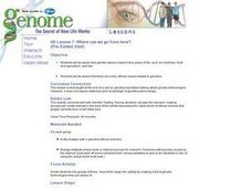 Genome:  The Secret of How Life Works Lesson Plan