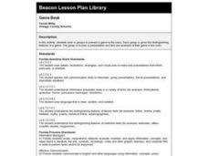 Genre Book Lesson Plan