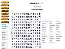 Geo Search Worksheet