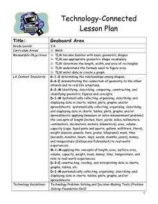 Geoboard Area Lesson Plan