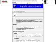 Geographic Information Systems Lesson Plan