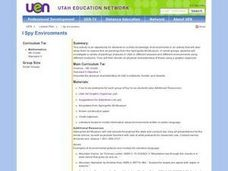 Geography: I Spy Environments Lesson Plan