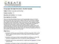 Geography through Literature-Pacific Islands Lesson Plan