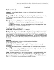 GeoHunt Lesson Plan