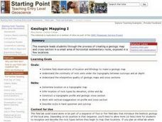 Geologic Mapping I Lesson Plan